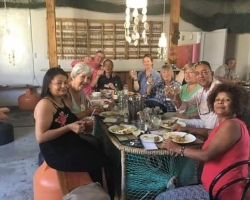 Lunch and Fellowship at Luderitz